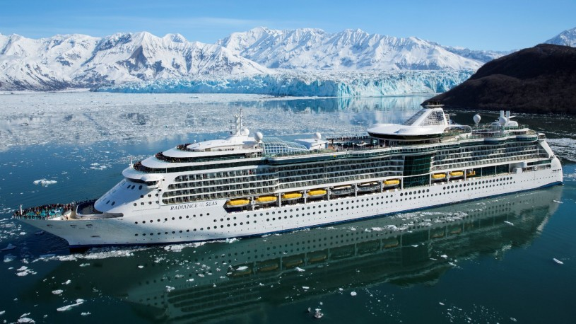 Radiance of the Seas at Hubbard Glacier - Alaska Radiance of the Seas - Royal Caribbean International
